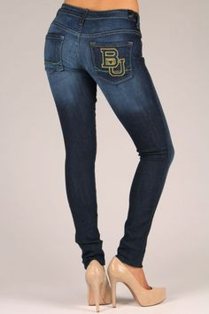 Baylor jeans! Would be perfect for game day.