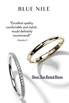 Our top-rated collection of men's and women's wedding rings features the finest platinum, gold, and contemporary metals. Each stunning band is crafted to the highest standards with handcrafted details, fine diamonds, or colorful gemstones. Wedding Rings For Women, Wedding Ring Bands, Wedding Jewelry, Rings For Men, Jewelry Gifts, Fine Jewelry, Women Jewelry, Beautiful Rings, Diamond Engagement Rings