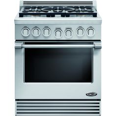 DCS Professional 30-Inch 5-Burner Natural Gas Range By Fisher Paykel - RGV-305-N