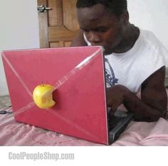 New Apple Laptop.,New Funny Apple Laptop Funny Cute, The Funny, College Humor, College Classes, I Love To Laugh, Insurance Humor, Just For Laughs, Funny Photos, Funniest Photos