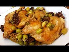 Pollo a la ciruela a la cacerola con coliflor especiado al horno - Recetas – Cocineros Argentinos
