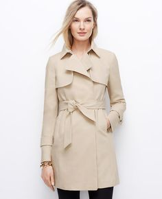 Petite Relaxed Trench