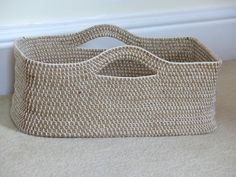 When I first made this crochet rope basket back in June 2013 I really wasn't expecting to get much of reaction. To me it was just something I made for a specific space and use. However, it turns …