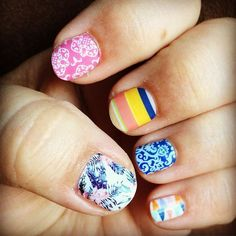 Jamberry 2016 Spring/Summer sneak peek!!! The new catalog releases on March 1st. Yay!! Message me if you would like to try a sample, host a party or become a consultant. There is no better time than now!!!!!! #ilovejamberry #jamberry #jamberrynails #newcatalog #spring #summer #sneakpeek #soexciting #igetpaidtohaveprettynails #tikihutjn #hottotrotjn #grenadajn #beachchairjn #electricjn #whiteromancejn #circustentjn #nails #nailart #nailwraps #naildesign