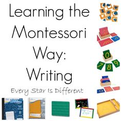 Every Star Is Different: Learning the Montessori Way: Writing