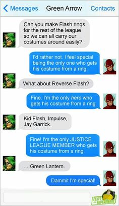 How to piss off the Flash...