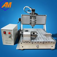 800w spindle motor 4 axis ball screw USB2.0 port 3040 mini 3d cnc router for wood and marble, wood plunge router   #Affiliate
