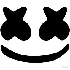 'Marshmello Face' Canvas Print by Marshmello Head, Marshmello Helmet, Bolo Dj, Marshmello Wallpapers, Canvas Art Prints, Framed Prints, Face Stencils, Face Template, 10th Birthday Parties