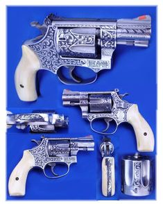 Smith & Wesson Custom Engraved Pistol
