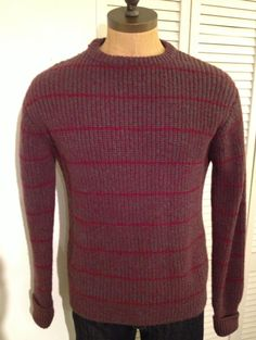 Vintage MENS Fieldgear striped sweater by Marshall by pandaJpanda, $28.00
