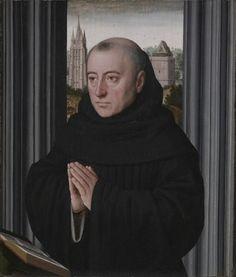 An Augustinian Friar, ca. 1515 (Gerard David) (ca. 1460-1523) Cleveland Museum of Art, OH, 1942.632