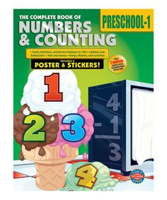 Extend learning beyond the classroom, and prepare little ones for future success. This comprehensive book is packed with fun and engaging activities that develop important early math skills such as number recognition, addition, subtraction and much more.