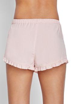 Ruffled Drawstring Shorts | Shorts | Women - 2000067585 | Forever 21 UK