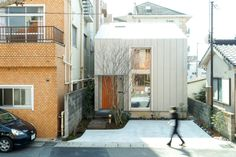 This compact urban Japanese apartment is packed with features that you can copy for your dream house Japanese Apartment, Architect Design, Prefab, Cozy House, Cladding, Shed, Exterior, Outdoor Structures, Urban
