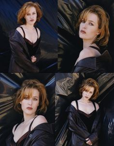 """X-Files ScriptsDVD CommentaryInterviews and Articles X-Files BooksPhotosFanfiction & Things """"Some people care too much. Gillian Anderson, Pretty People, Beautiful People, Beautiful Women, X Files, Manequin, Fbi Special Agent, Dana Scully, The X Files"""
