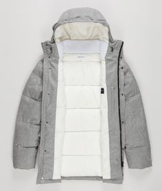 Loro Piana For Norse Projects Down Jackets. http://www.selectism.com/2014/12/10/norse-projects-loro-piana-jackets/
