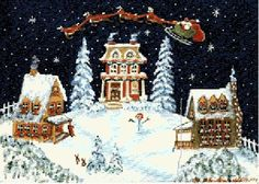 Cross Stitch Pattern  PDF  Christmas Counted by Abracraftdabra, $18.49