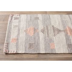 Loon Peak Cahone Light Gray/Dusty Coral Area Rug Rug Size: Rectangle x Southwest Rugs, Knit Rug, Best Cleaning Products, Sheepskin Rug, Contemporary Area Rugs, Grey Rugs, Carpet Runner, Blue Area Rugs, Rug Size