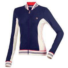 Women's Vintage Tennis Jacket by Fila.  #tennis