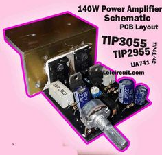 Power Amplifier 140W