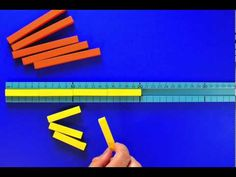 ▶ Extract from 'Exploring Numbers Through Cuisenaire Rods': Step Counting with Cuisenaire Rods - YouTube