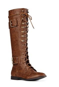 This justfab lace up boots are so cute I wouldn't be able to decide for a color.