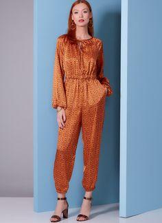 V1851 | Misses' and Misses' Petite Jumpsuit | Vogue Patterns