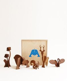 Moderne Wood Box Set