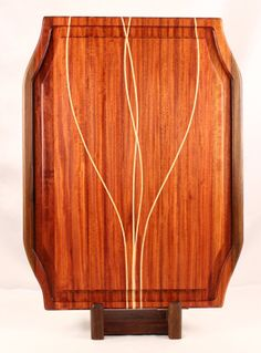 Santos Mahogany Brazilian Ebony & Maple by BlueMtnWoodworks, $250.00