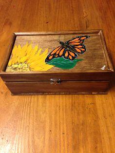 Butterfly box.