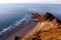 Cape Rienga headland known as the leaping place for Maori spirits entering the after world.