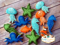 Under the sea cookies!
