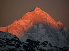 Makalu – The Majestic Mountain is the fifth highest in the world.