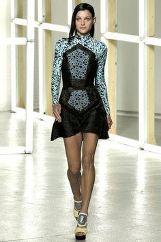 Lovely Jessica Stam for Rodarte - Pasarela