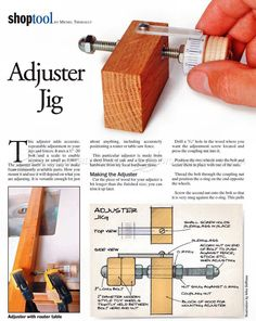 image of #417 Micro Adjuster Jig