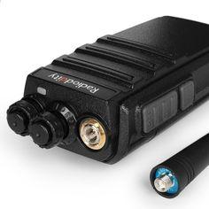 2 पीसीएस रेडियोडिडिटी जीए -2 एस टू वे रेडियो यूएचएफ 400-470 मेगाहर्ट्ज 16 सीएच रिचार्जेबल वोक्स लांग रेंज वॉकी टॉकीज़ यूएसबी चार्जर + इयरपीस के साथ