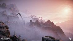 ArtStation - Horizon Zero Dawn - Mountain Landscapes, Lucas Bolt