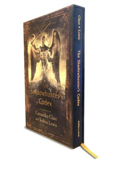 Book cover, special edition of the shadowhunter's codex