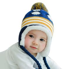 7fef0fd192f Cute penguin hat. Winter Baby BoyWinter KidsKnitted Baby BeaniesWinter  BeaniesEar CapBaby WarmerInfant ToddlerBaby CartoonKids Hats