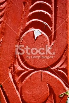 Close-Up of a Maori Statue Royalty Free Stock Photo Kiwiana, Photo Craft, Image Now, Close Up, Royalty Free Stock Photos, Arts And Crafts, Statue, Red, Photography