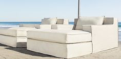 restoration hardware capri outdoor sofas