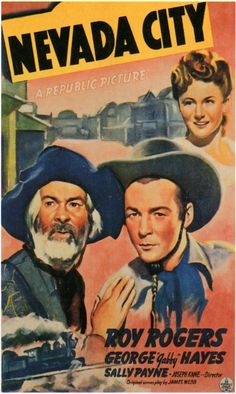 "Nevada City - 1941   Saturday Matinee at the movie theater.  Lots of Roy Rogers and serials with cliff hangers, ""Continued next week""....."