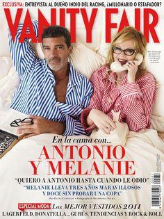 Nº 37. Septiembre 2011. Antonio Banderas y Melanie Griffith © Giampaolo Sgura