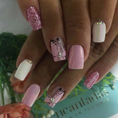 Diy Nail Designs, Short Nails, Nails On Fleek, Spring Nails, Gel Polish, Pretty Nails, Hair And Nails, Manicure, Hair Beauty