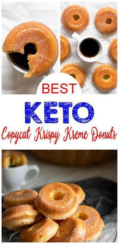 How does a Krispy Kreme donut sound on a ketogenic diet? Pretty tasty right? Now you can make a low carb keto copycat Krispy Kreme donut with this simple recipe. I know I didn't want to give up donuts… Keto Foods, Best Keto Breakfast, Breakfast Dessert, Breakfast Ideas, Breakfast Recipes, Breakfast Gravy, Breakfast Casserole, Mcdonalds Breakfast, Breakfast Frittata