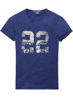 tee with summer prints | T-shirt s/s | Men Clothing at Scotch & Soda