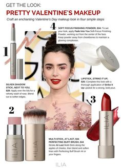 Get a Perfect Valentine's Day Look with ILIA Beauty!