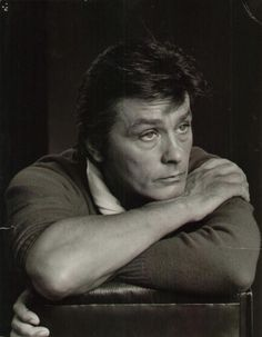 Alan Delon by Jousef Karsh