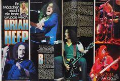 Bravo Журнал Nr.48 1978 Uriah Heep A. Lear S. Quat