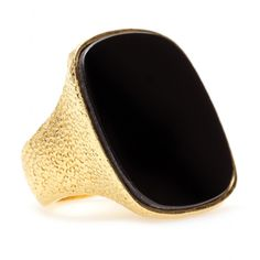 RING WITH REFLECTIVE STONE seen @ www.mytheresa.com